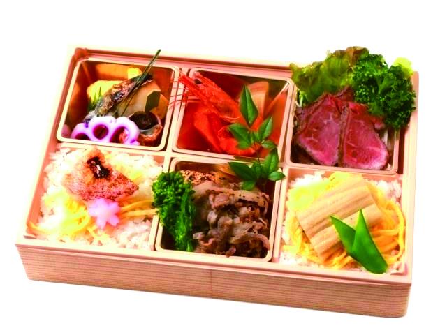 和牛・お野菜・旬魚の彩り御膳 お茶付き画像