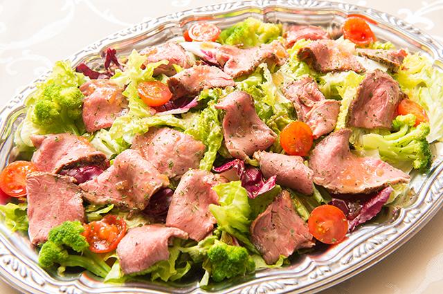 ローストビーフのサラダ画像