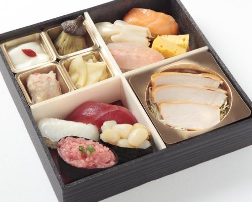 赤酢の舎利の寿司御膳(雅)画像