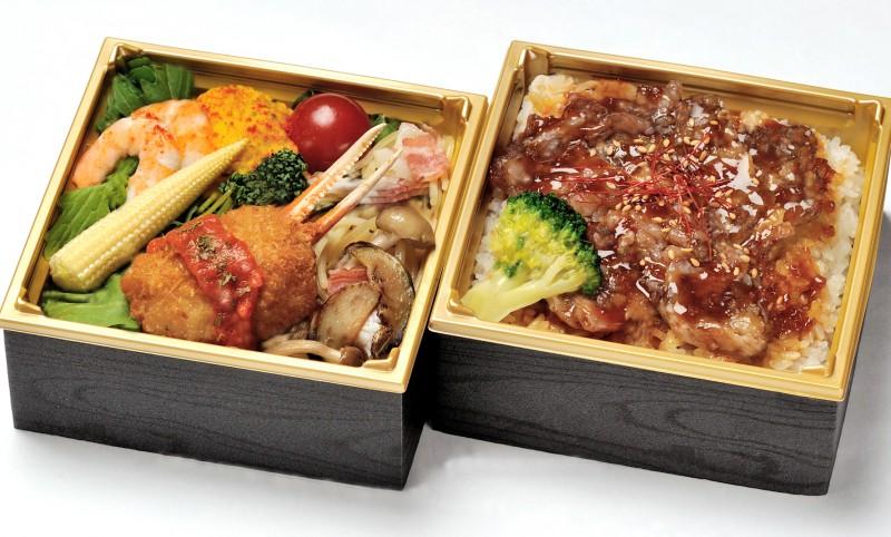 二段和牛カルビ丼画像