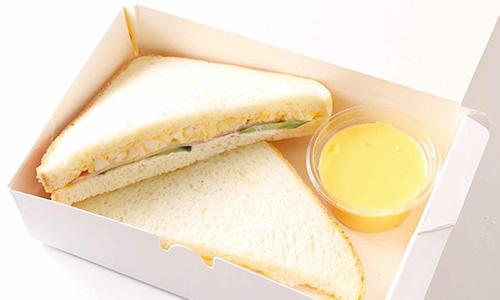 ハムたまごサンドイッチBOX画像
