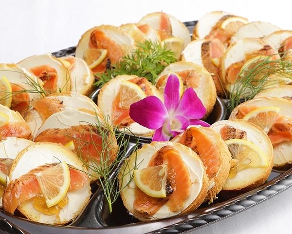 スモークサーモンとクリームチーズのブリオッシュ画像