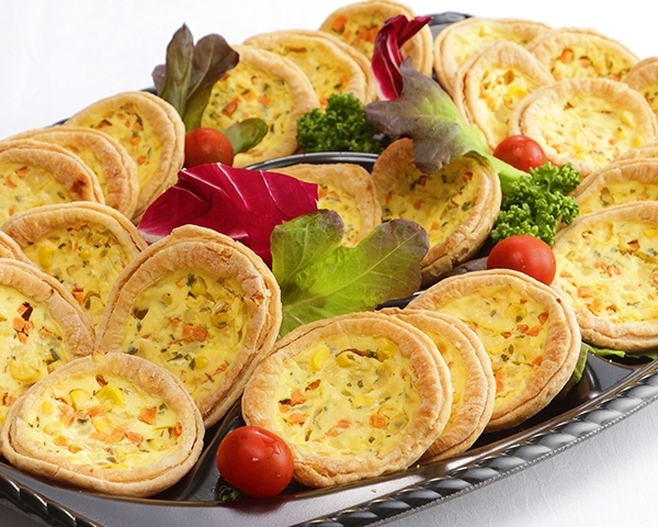 プチ野菜のキッシュ画像