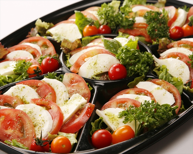 新鮮トマトのカプレーゼ画像