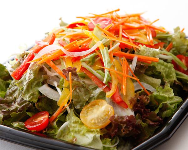 食物繊維たっぷりグリーンサラダ画像