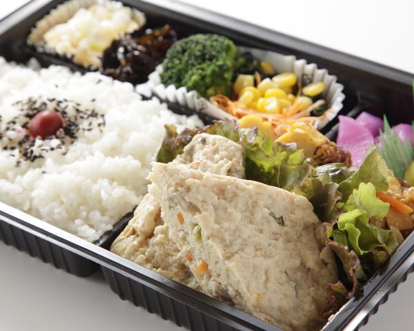 豆腐ハンバーグ弁当画像
