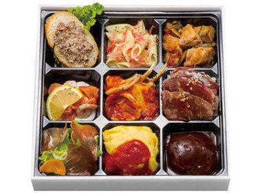 洋食弁当画像