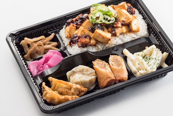 マーボー丼&点心ミックス弁当画像