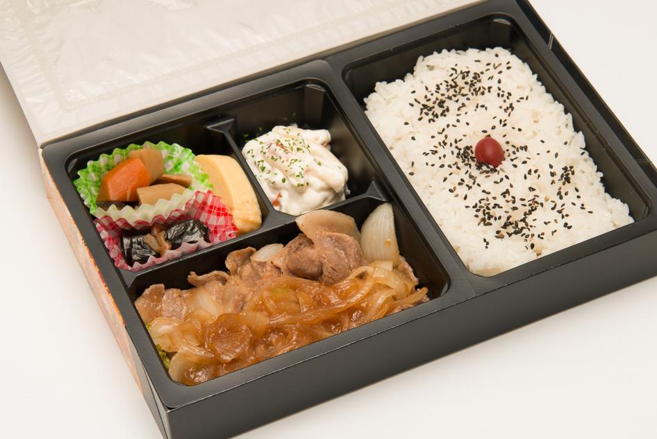 豚ロースの生姜焼き弁当画像