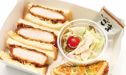 三元豚の味噌カツサンドBOX画像