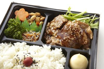 牛カルビと季節の惣菜幕の内弁当画像