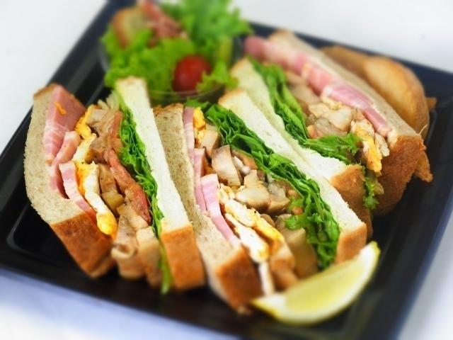 クラブハウスサンドイッチ(ホワイト白パン)画像