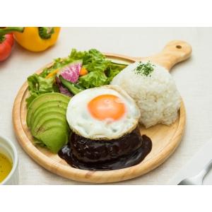 黒毛和牛・国産牛100%とろけるロコモコ丼画像