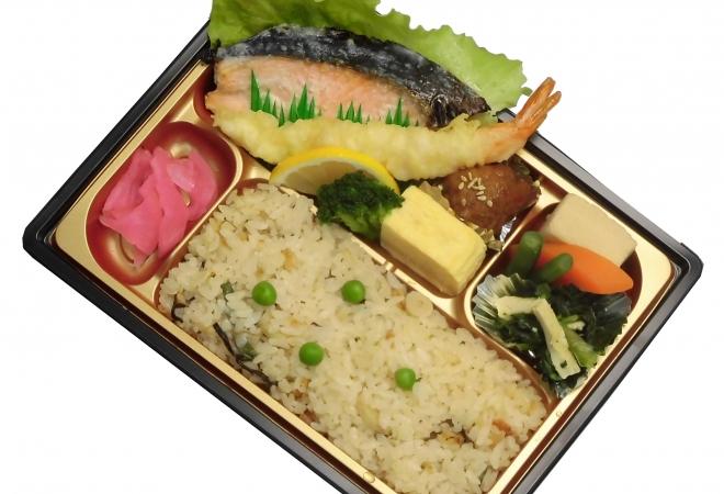 鮭の塩麹焼き弁当画像