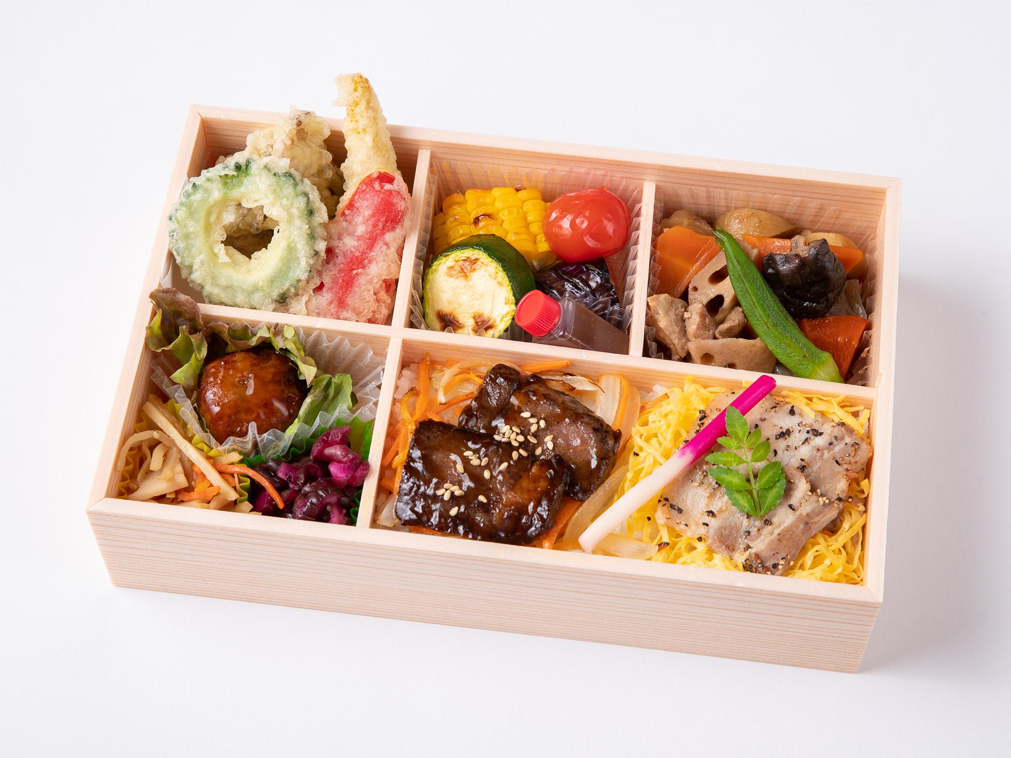 【夏季限定】牛とんカルビと彩り夏野菜御膳画像